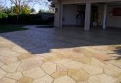 concrete driveway stamping Las Vegas
