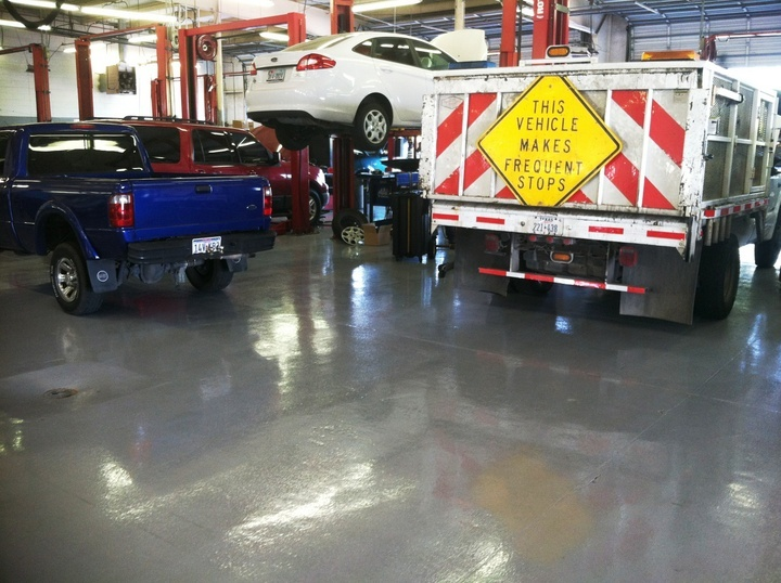 epoxy garage floor Las Vegas