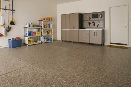 garage floor residential Las Vegas