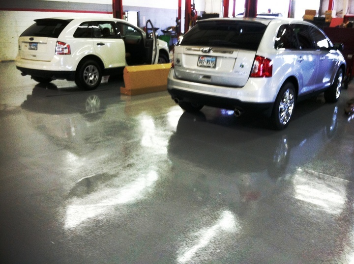 garage floors resurfacing Las Vegas