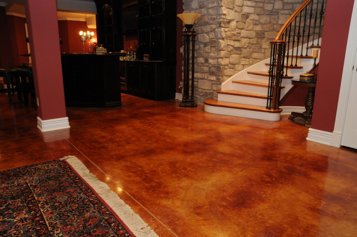 Acid Stained Concrete Concrete Resurfacing Las Vegas