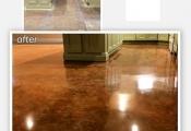 stained interior floors  Las Vegas