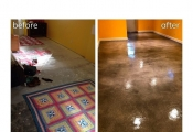 stained interior floors  Las Vegas