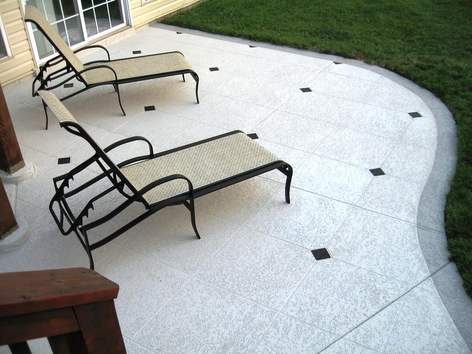 concrete patio classic texture Las Vegas NV
