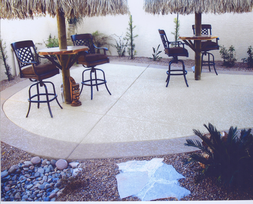concrete patio installation Las Vegas