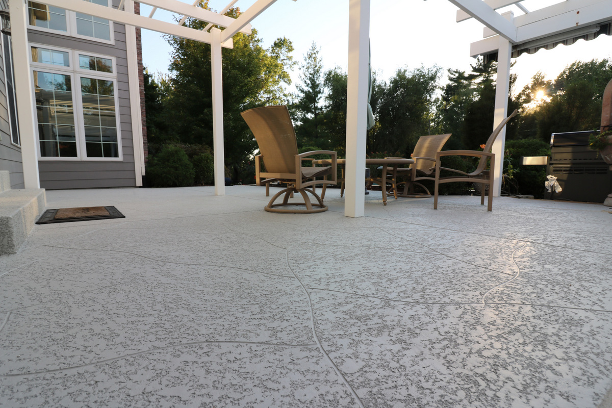 Perfect Decorative Concrete Patio Las Vegas