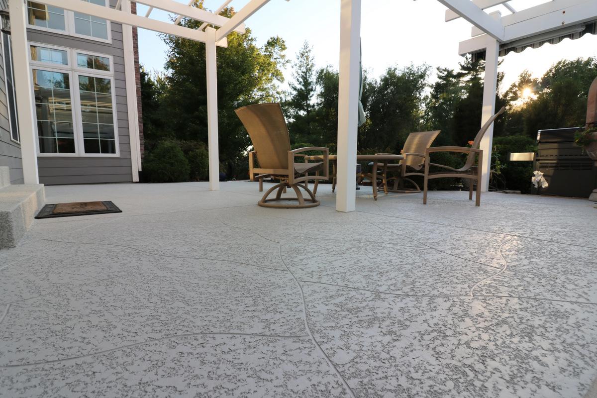 decorative concrete patio las vegas