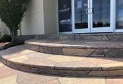 colored concrete patio las vegas