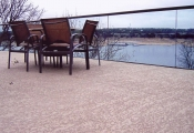 spray knockdown finish patio Las Vegas