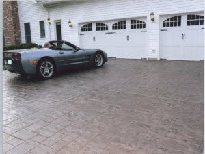 Henderson stamped concrete overlay