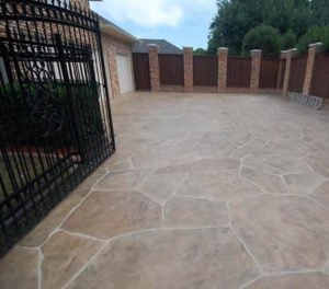 decorative concrete driveway las vegas
