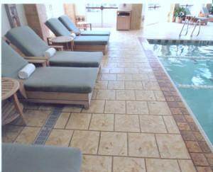 Enterprise, NV stamped pool decks