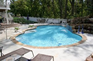 Silverado Ranch, NV pool deck