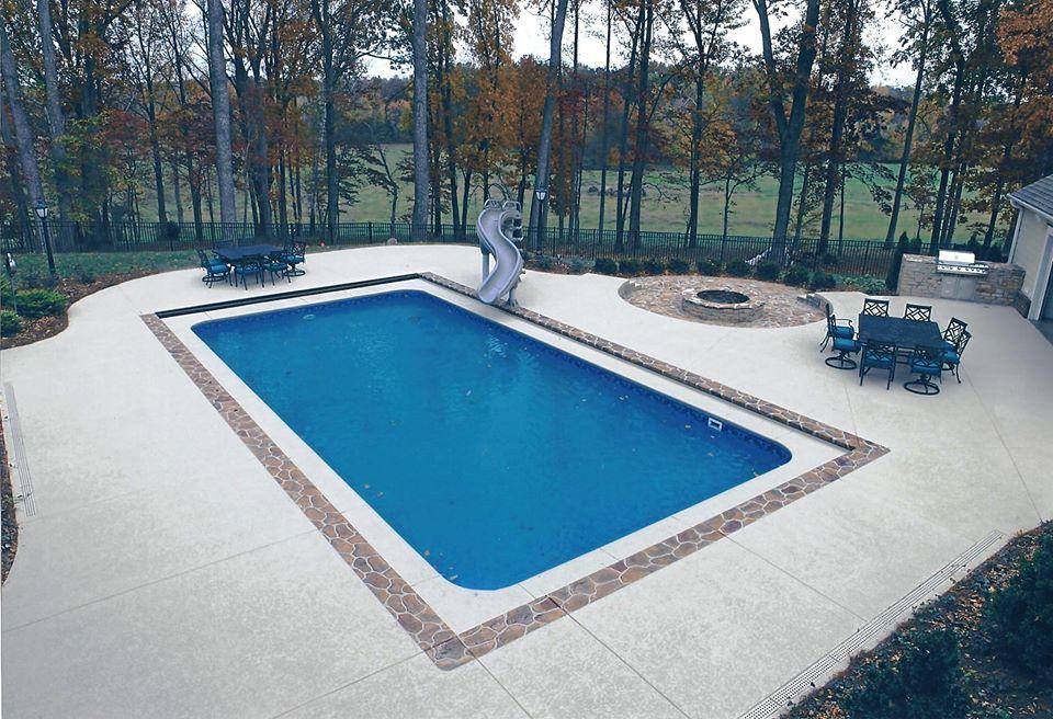 Concrete pool deck las vegas nv resurfacing repair for Inground pool coping paint