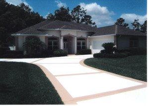 Concrete Flooring Driveway