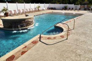 Summerl;in, NV Pool Deck Designs