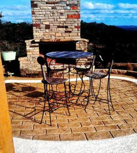 stamped concrete patio las vegas