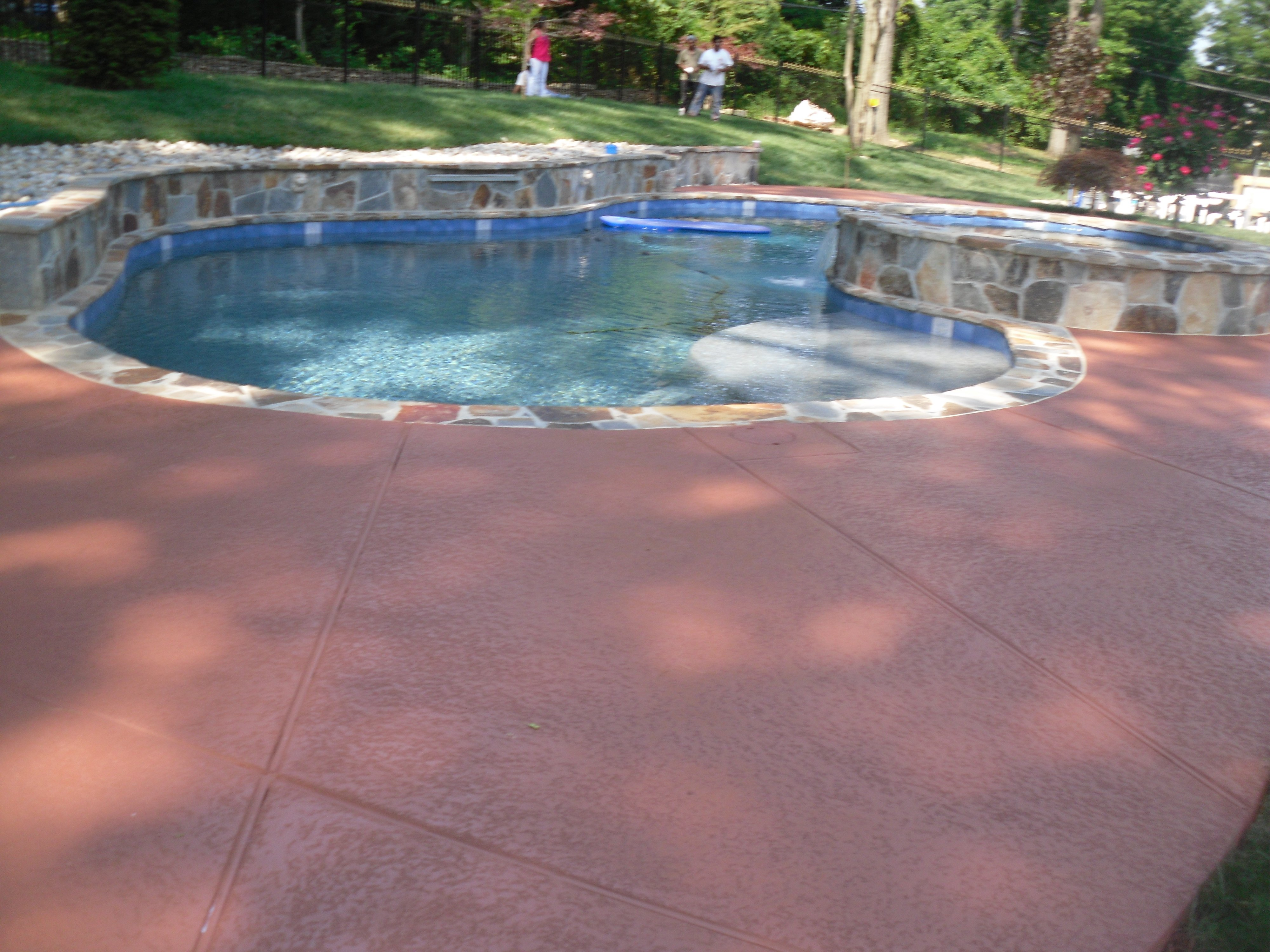 Cons Of Painting A Concrete Pool Deck