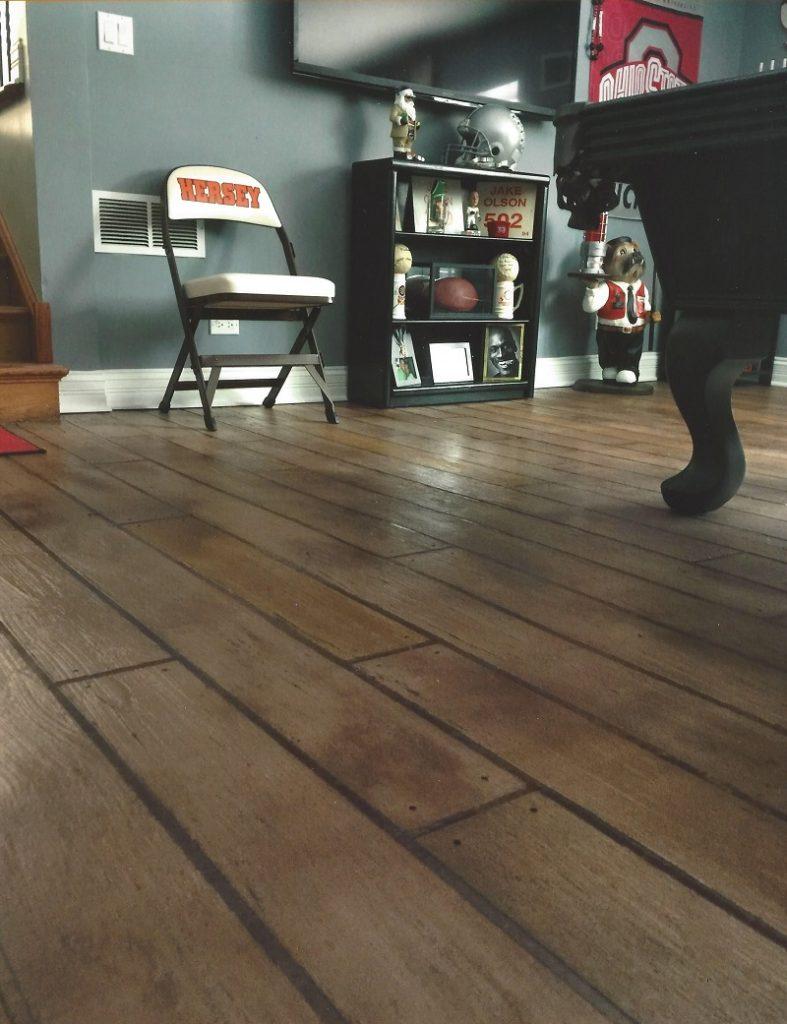 stamped concrete floor las vegas